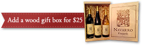 Add a wood gift box for $25