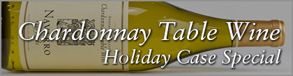 Chardonay Table Wine Case Special
