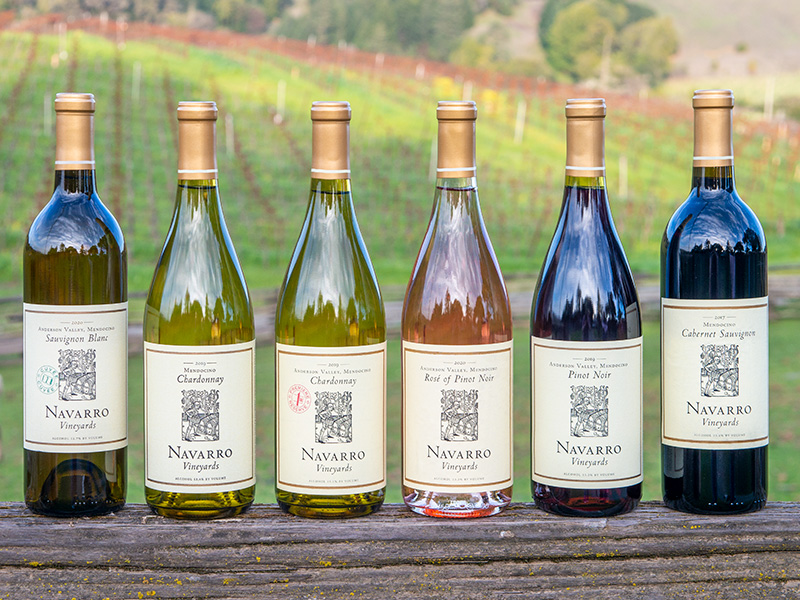 Navarro Vineyards Pre-Release Six pack, Spring 2021