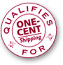 One-Cent Ground Shipping seal