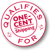 Qualifies for One-Cent Ground Shipping
